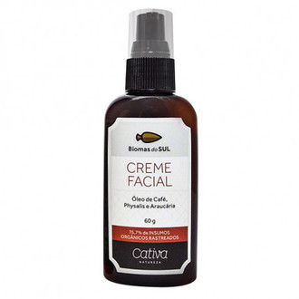 Creme Facial | Biomas do Sul (50ml) - Cativa Natureza