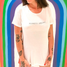 T-Shirt Branca Metamorfose Ambulante