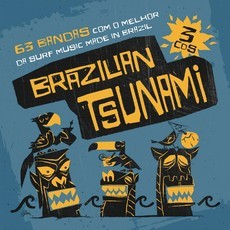 CD BOX BRAZILIAN TSUNAMI (BOX COM 3 CDs) (NOVO/LACRADO)
