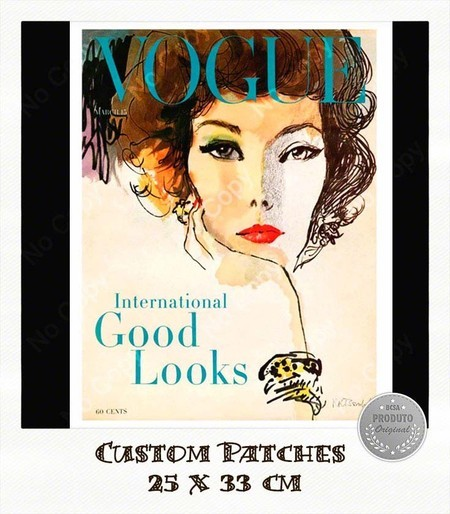 Patch Vogue 1958 - Importado