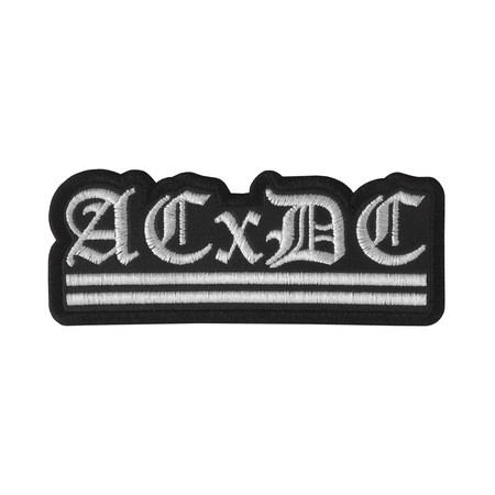 ACXDC Antichrist Demoncore Official Embroidered Patch