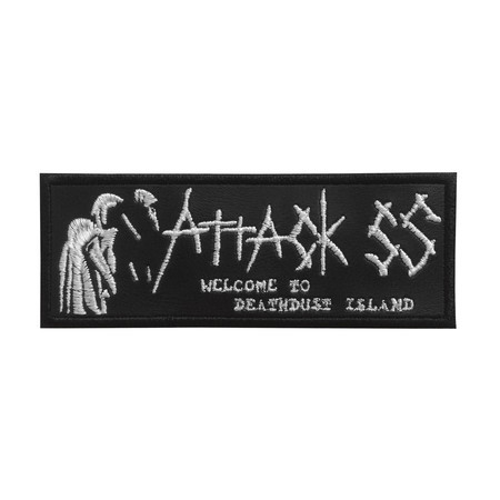 ATTACK SS Welcome to Deathdust Island Official Embroidered Patch