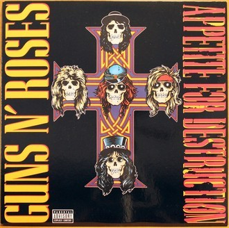 LP Guns N' Roses - Appetite For Destruction ( Importado )