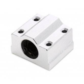 PILLOW BLOCK SC8UU COM ROLAMENTO PARA GUIA LINEAR 8MM (M53)