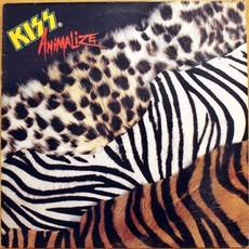 LP Kiss - Animalize ( Importado / UK )