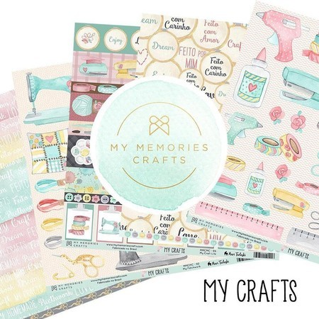 KIT PAPÉIS 12x12 - MY MEMORIES CRAFTS - MY CRAFTS
