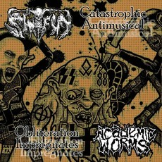 CD SHITFUN / ACADEMIC WORMS - SPLIT CD-EP (NOVO/LACRADO)