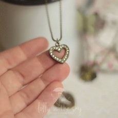 Colar Antique Heart