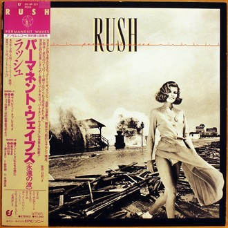 LP Rush - Permanent Waves ( Importado / OBI )