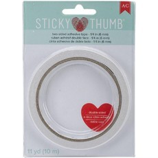 STICKY THUMB - ADESIVO DUPLA FACE 6mm - AMERICAN CRAFTS