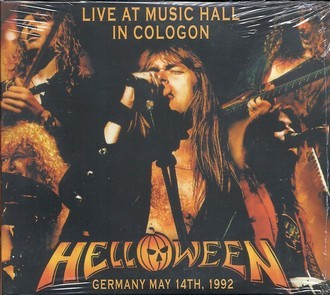 CD HELLOWEEN - LIVE AT MUSIC HALL IN COLOGON 1992 (CD/DVD) IMPORTADO
