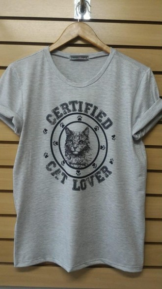 Camiseta Boyfriend Gato Universidade
