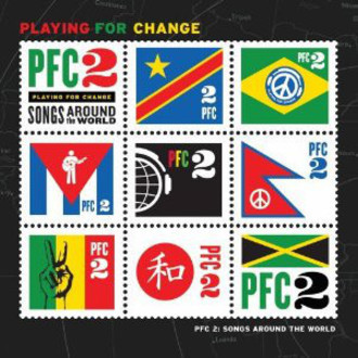 CD PLAYING FOR CHANGE - PFC 2: SONGS AROUND THE WORLD (CD+DVD)(USADO)