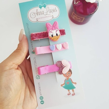 Kit Clips Margarida