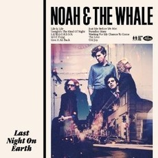 ​CD NOAH & THE WHALE - LAST NIGHT ON EARTH  (CD USADO)