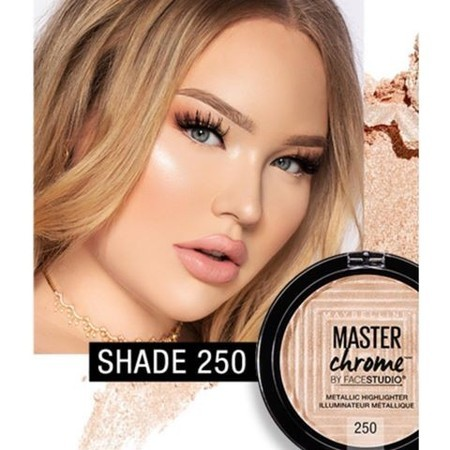 Iluminador Master Chrome Maybelline Nikkietutorials Exclusive