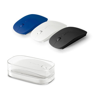 Mouse Wireless 2.4G Personalizado - 2 Pilhas AAA Incluso.