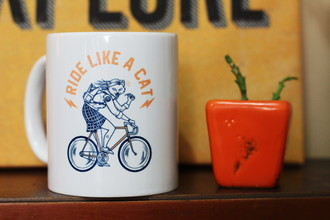 Caneca Ride Like a Cat