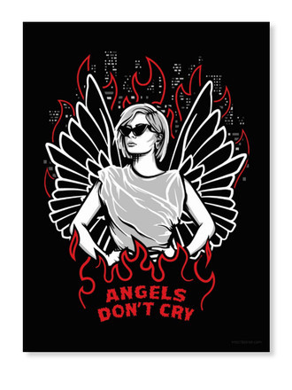 Angels Don't Cry (Poster)