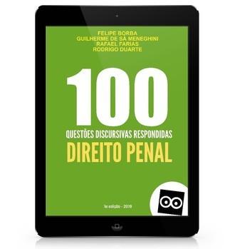 100 Discursivas de Direito Penal com Respostas