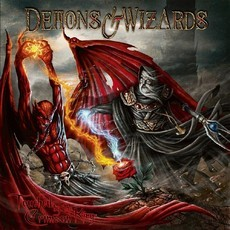 CD DEMONS & WIZARDS - TOUCHED BY THE CRIMSON KING (CD DUPLO)