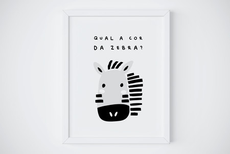 Quadrinho digital zebra