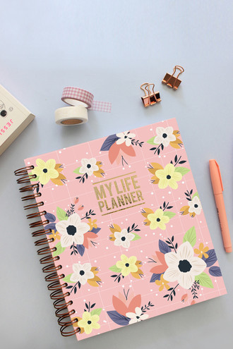 My Life Planner 2020 Floral