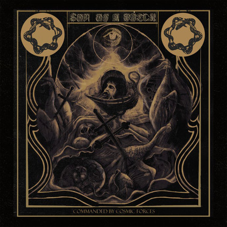 "SON OF A WITCH ""COMMANDED BY COSMIC FORCES"" CD DIGIPACK"