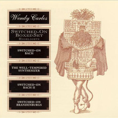 CD WENDY CARLOS - SWITCHED ON BOXED SET - HIGHLIGHTS (USADO)