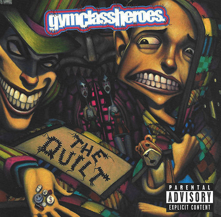 CD GYM CLASS HEROES - THE QUILT  (CD USADO)