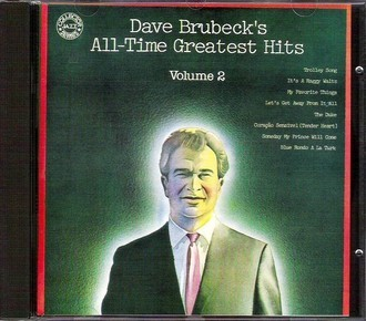 CD DAVE BRUBECK - ALL-TIME  GREATEST HITS VOL. 2 (CD USADO)
