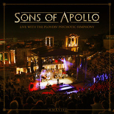 CD SONS OF APOLLO - LIVE WITH THE PLOVDIV PSYCHOTIC (3 CDs+DVD) NOVO