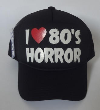 Boné I Love Horror 80's