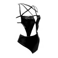Maiô e Body Harness Dark Glow