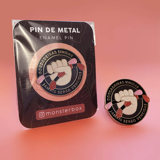 PIN DE METAL - BORDADEIRAS UNIDAS