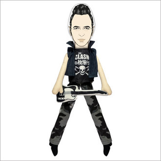 Boneco Joe Strummer - The Clash