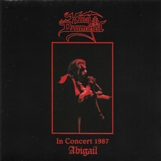 CD KING DIAMOND - ABIGAIL - IN CONCERT 1987 (2017) NOVO/LAC (EUR)