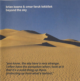 CD BRIAN KEANE & OMAR FARUK TEKBILEK - BEYOND THE SKY  (CD USADO)