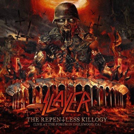 CD SLAYER - THE REPENTLESS KILLOGY: LIVE AT THE FORUM (CD DUPLO)