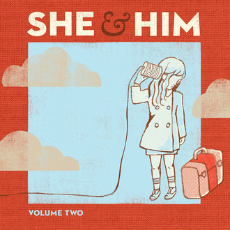 CD SHE & HIM - VOLUME TWO  (CD IMP, USADO)