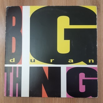 LP DURAN DURAN - BIG THING (1988) (VG)