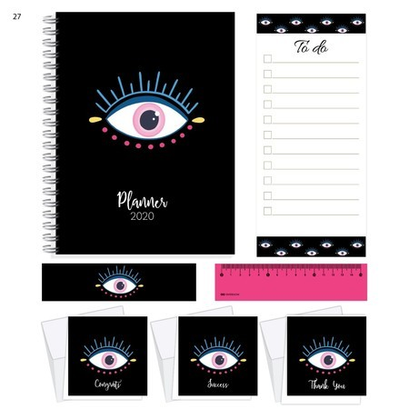 Planner 2020 - Olho grego exclusivo
