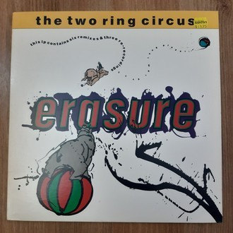 LP ERASURE - THE TWO RING CIRCUS (1987) LP DUPLO  IMPORTADO (NM)