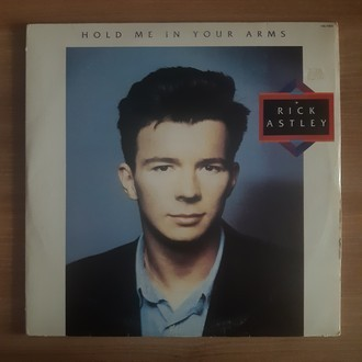 LP RICK ASTLEY - HOLD ME IN YOUR ARMS (1988) (NM)
