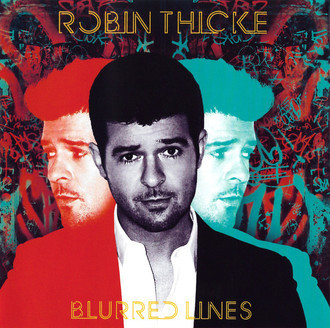 CD ROBIN THICKE - BLURRED LINES (USADO)