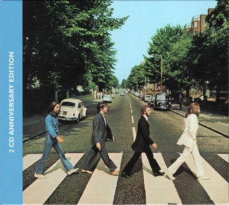 CD THE BEATLES ‎– ABBEY ROAD ANNIVERSARY EDITION (2019) CD DUPLO NOVO