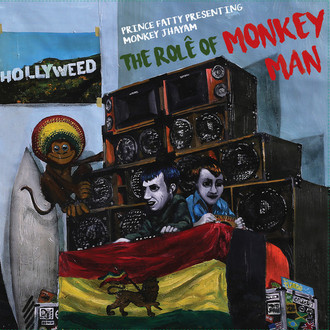 LP PRINCE FATTY & MONKEY JHAYAM ‎– THE ROLÊ OF MONKEY MAN (2018) NOVO