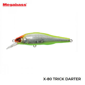 Isca Artificial Megabass X-80 Trick Darter 80,5mm 10,5g