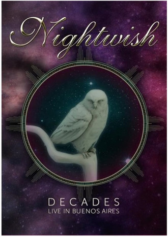DVD NIGHTWISH - DECADES: LIVE IN BUENOS AIRES (2019) NOVO/LACRADO