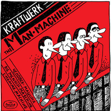 Kraftwerk / The Man-Machine PRINT A4